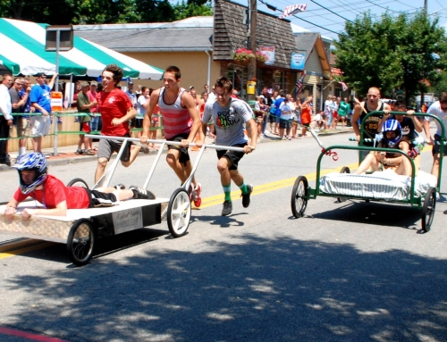 Sep 26, 2015:  Greenwood Lake 40th Bed Race Registration