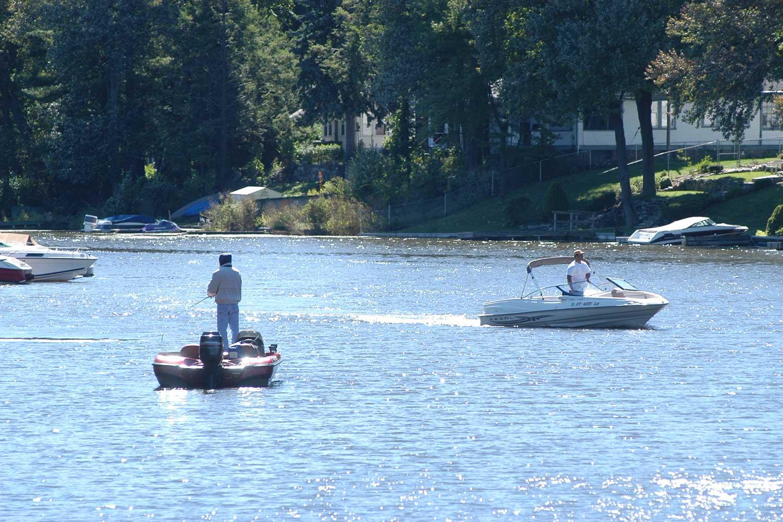Fishing On Greenwood Lake Village Of Greenwood Lake Ny